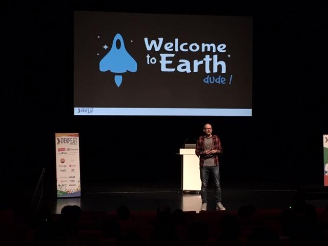 Hervé Dumas au DevFest Paris