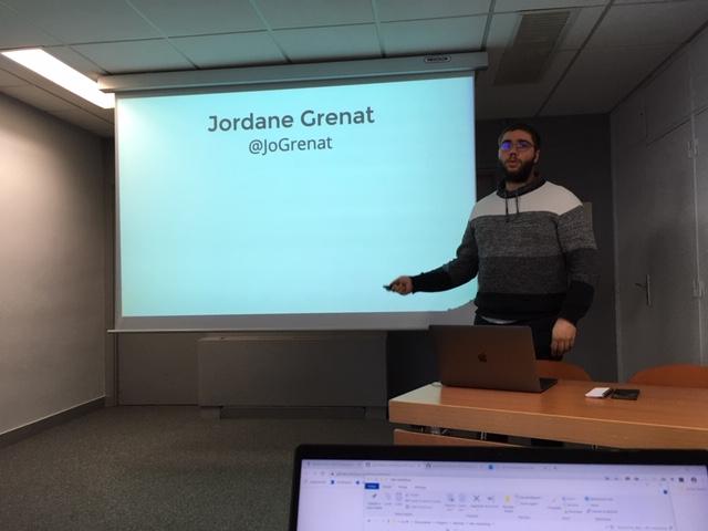 Jordane Grenat au DevFest Paris